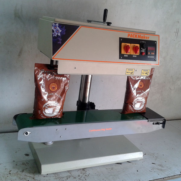 Vertical Continuous Band Sealing Machine Manufacturer in