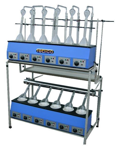 Kjeldahl Distillation & Digestion Combined Unit