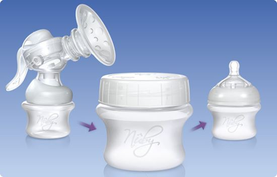 Store n Feed Breastmilk Storage Containers
