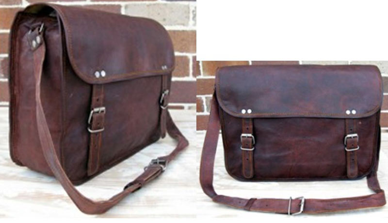 Leather Vintage Satchel Bags Manufacturer & Manufacturer from ...