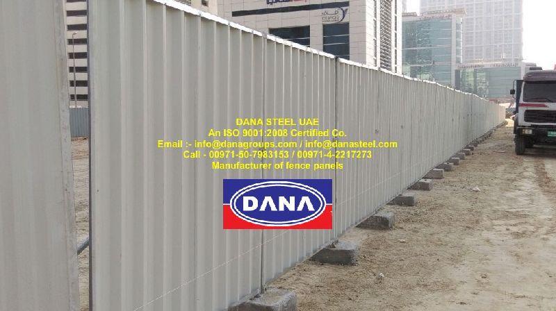 Dubai Metal Roof sheets / Profile sheets / Single skin cladding (DANA STEEL)
