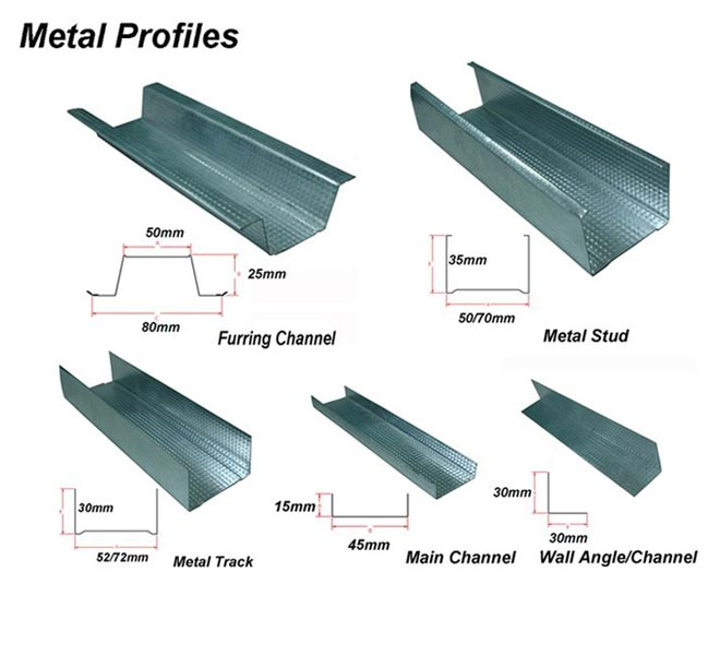 Metal Studs IN UAE (DANA STEEL)