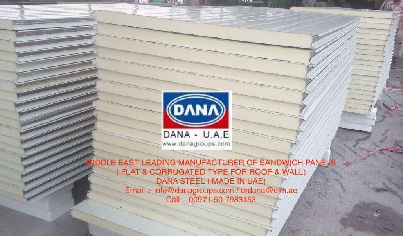 PIR sandwich panel supplier in kuwait (DANA STEEL)