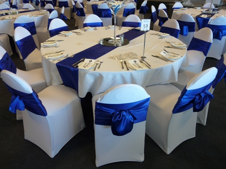 Buy Lycra Chair Cover Bows From Global Linen Company