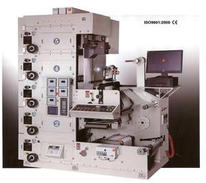 Stack Flexo Label Printing Press (MODELS: JQ-S320-5F &)