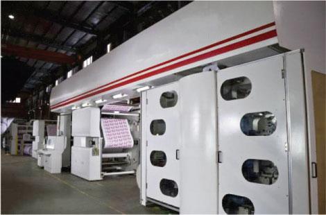 Flexo Central Impression Printing Press (JQ-1400-8CI)
