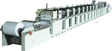 Flexographic Label Press (MODELS: SR-JQ830, SA)