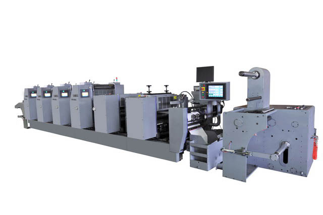 Intermittent Rotary Label Offset Press (MODELS  JQ-320-6 &am)