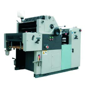 One Color Offset Printing Press Machine