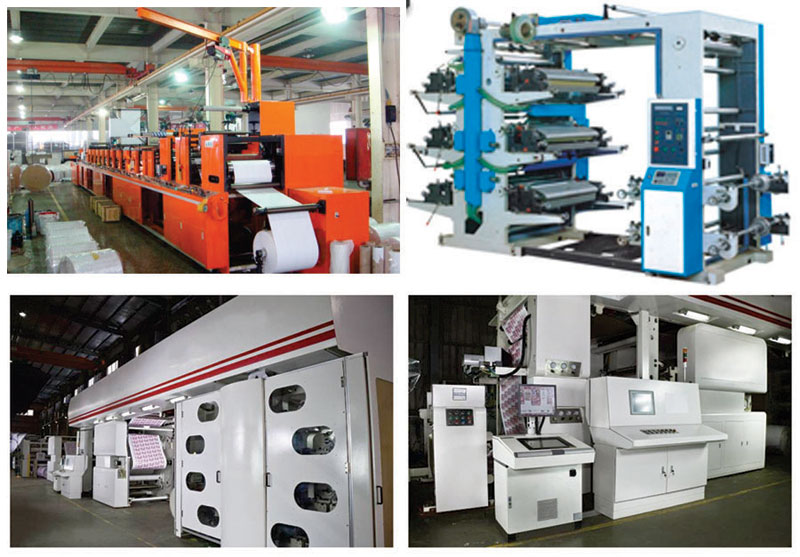 Printing Production Equipment, Plastic Production Equipment