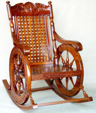 Stupendous Buy Wooden Rocking Chair From Usha Handicrafts Saharanpur Dailytribune Chair Design For Home Dailytribuneorg