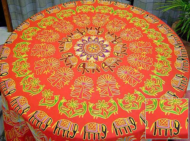 Orange Table Cover (AGHFTC 000 (9))