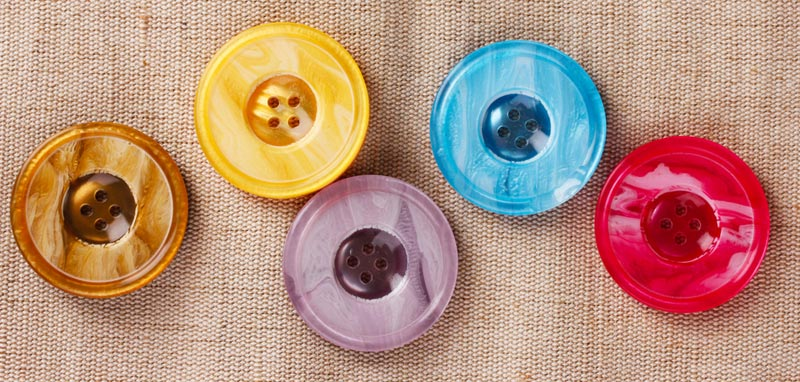 Imitation Pearl Shell Buttons
