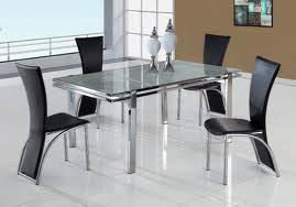 Glass Dining Table Set In India Glass Dining Table Set