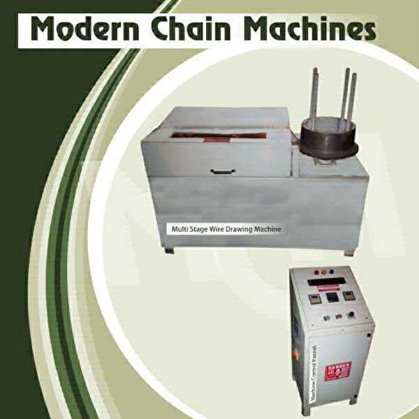 Multistage Wire Drawing Machine