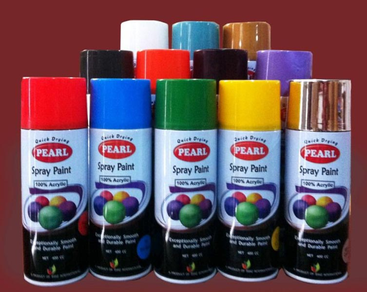 Acrylic Spray Paint Manufacturer & Exporters from, Pakistan