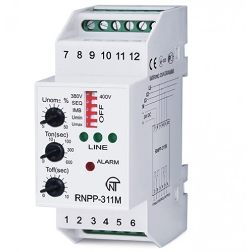 Voltage Monitoring Device : Buy phase voltage monitoring relay rnpp m from e