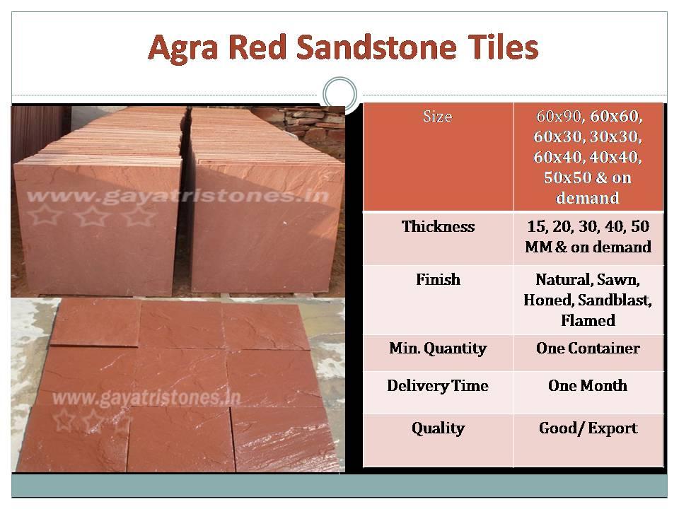 Red Sandstone Tiles (JS001)
