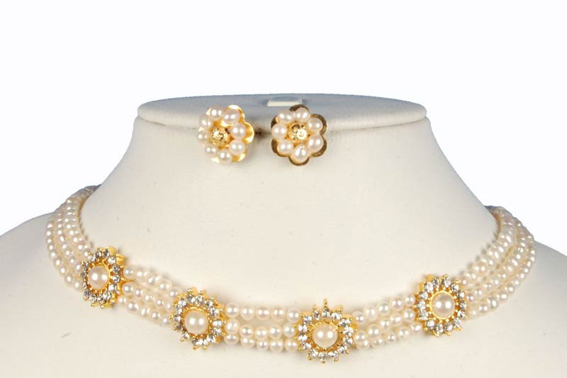 Buy Pearl Necklace From D D Pearls Mumbai India Id