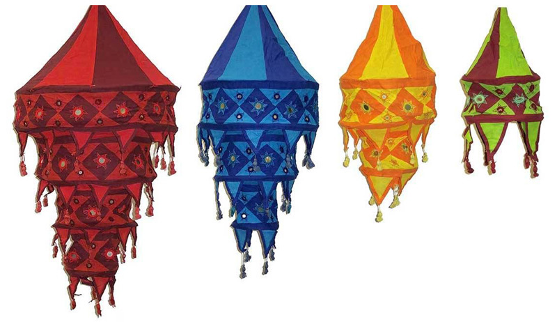 Buy cotton lamp shades from shende exports imports india id cotton lamp shades aloadofball Images