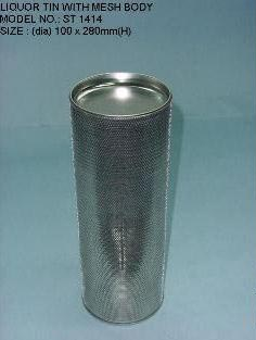 Liquor Tin Containers