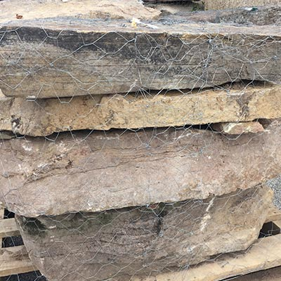 PA Fieldstone Steppers Marble