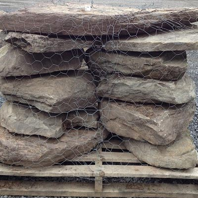 PA Fieldstone Steppers 9-15 per Pallet