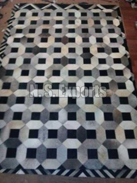 Leather Carpet Patchwork