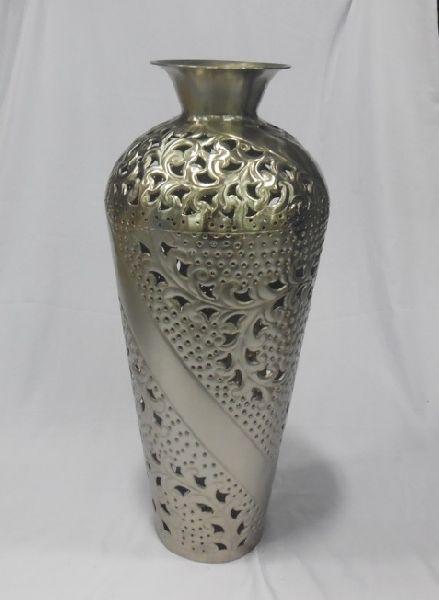 Buy Aluminium Flower Vases From A S Handicraft Moradabad India