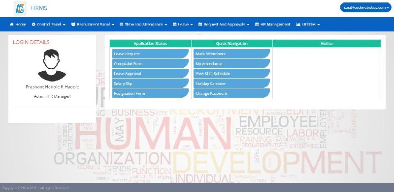 Buy Human Resource Management System in Asp Net with source