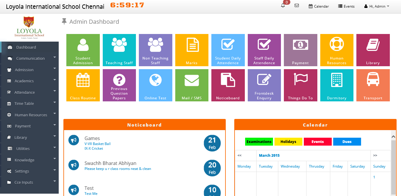 Buy School Management System with Source Code from