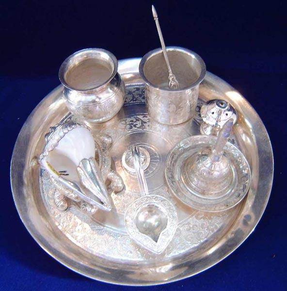 Silver Pooja Accessories