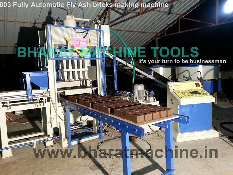 Fully Automatic Fly Ash Brick Making Machine (BMT - 003)