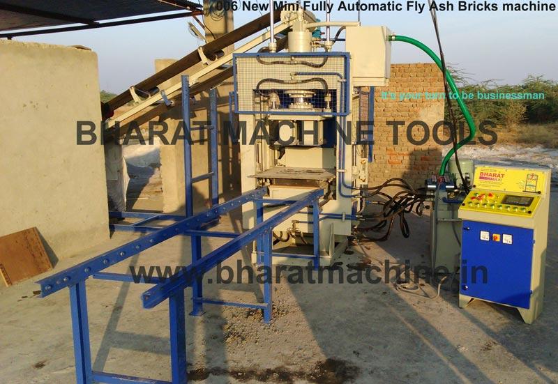 Mini Fully Automatic Fly Ash Brick Machine (BMT - 006)