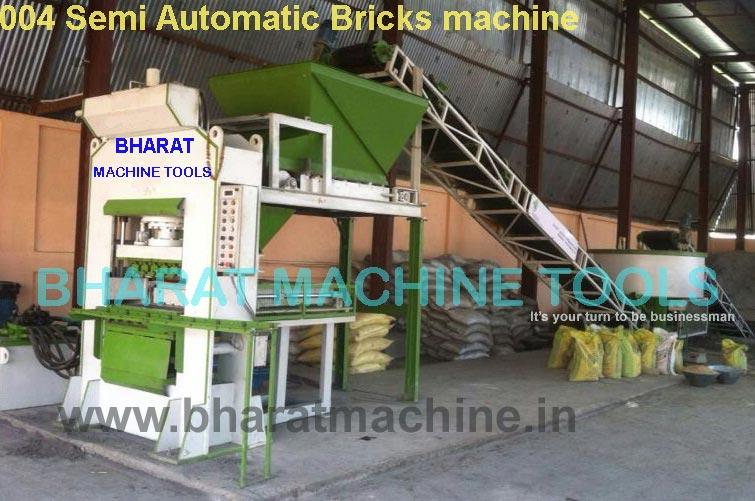 Semi Automatic Fly Ash Brick Making Machine (BMT - 004)