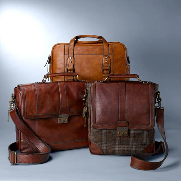 Stylish Camel Leather Handbags M 32