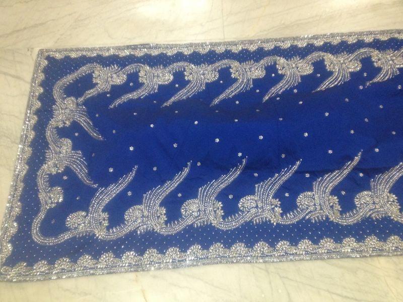 African Georgette Silk Fabric