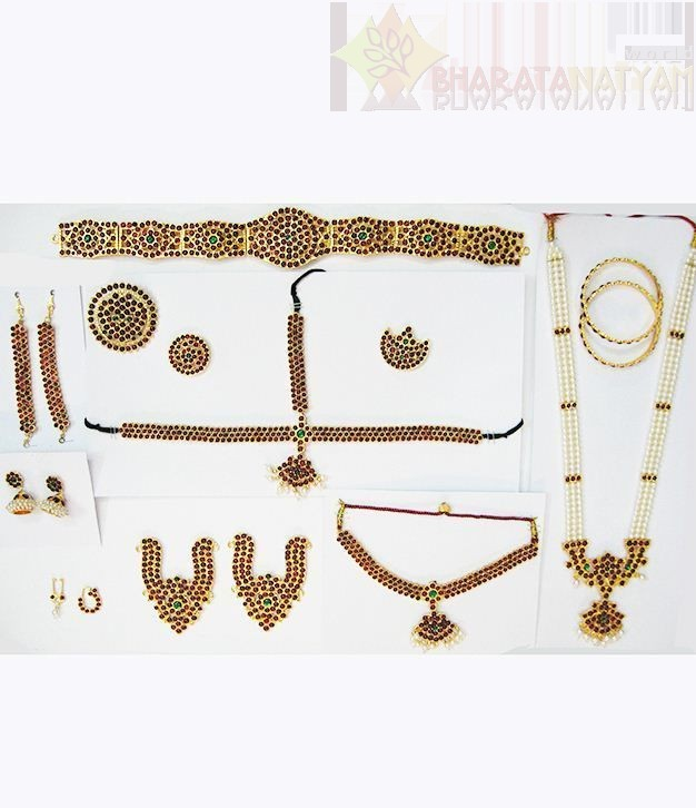 Temple Jewelry Manufacturer in Delhi India by Bharatanatyam
