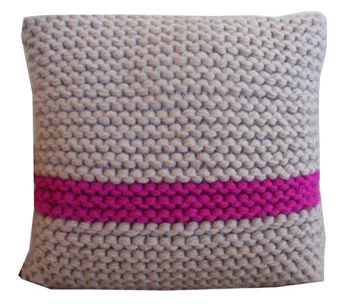 Hand Knitted Cushions