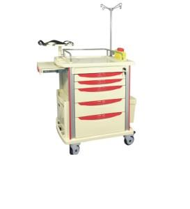 EMERGENCY CRASH CART TROLLEY