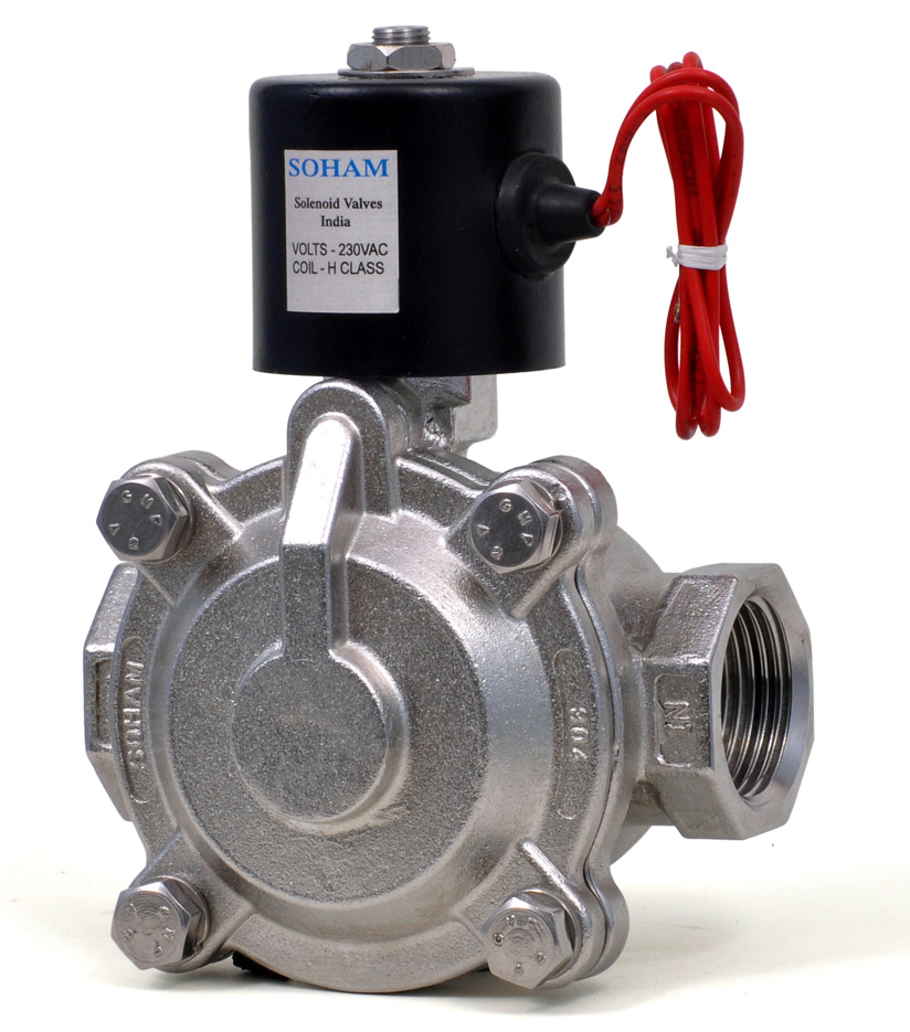 2 Way Diaphragm Type Solenoid Valve (N-940-S)