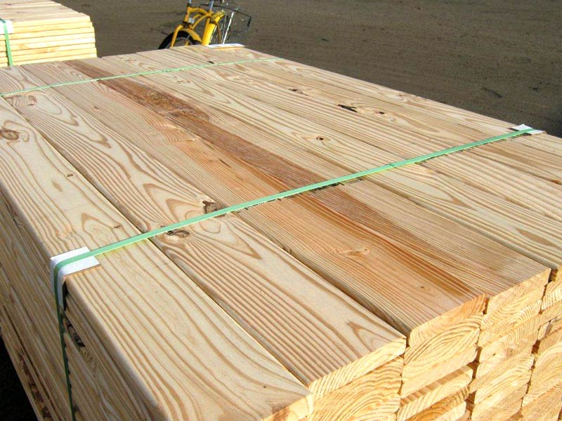 Southern Yellow Pine Wood Decking Manufacturer In Indore