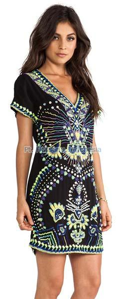Ladies Batik Dress