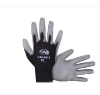 Polyurethane Coated Palm Glove
