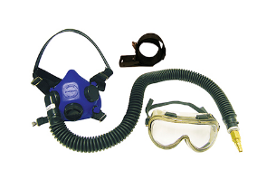 Air Halfmask Overspray goggles