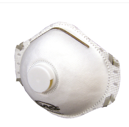 VALVED PARTICULATE RESPIRATOR