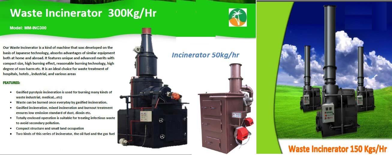 Incinerators Manufacturer & Exporters from Dubai, United