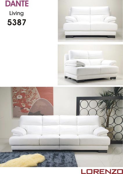 Genuine Fabric Sofa 5387