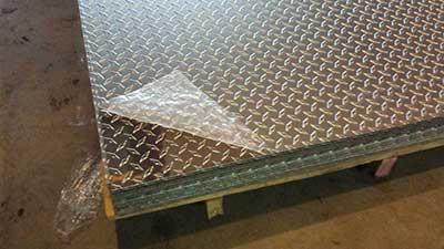 Aluminium Chequred sheets