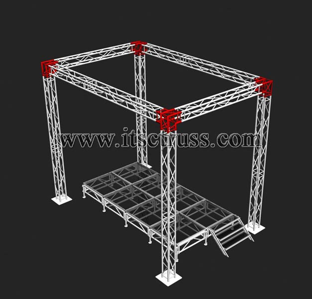 tower stage truss manufacturer manufacturer from china id 820911. Black Bedroom Furniture Sets. Home Design Ideas